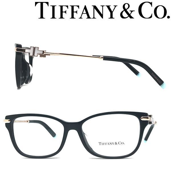 Tiffany & Co. ティファニー メガネフレーム ブランド ブラック×ゴールド 眼鏡 TF2207F-8339
