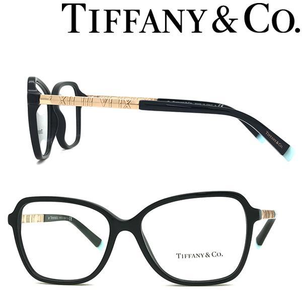 Tiffany & Co. ティファニー メガネフレーム ブランド ブラック×ゴールド 眼鏡 TF2211-8001