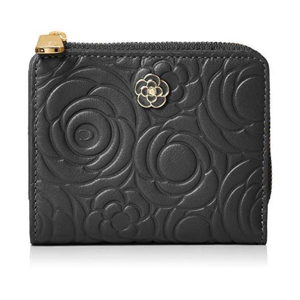 クレイサス 折り財布Lファスナー二つ折り財布カメル188103ブラック