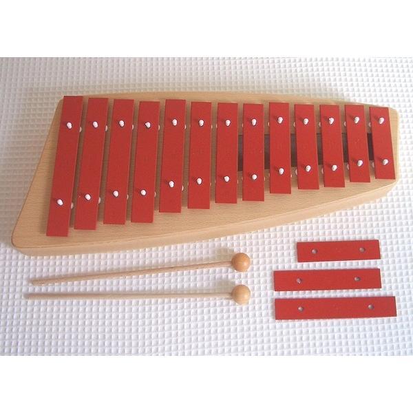 ゾノア SONOR メタルフォン NG11 木のおもちゃ 楽器 鉄琴