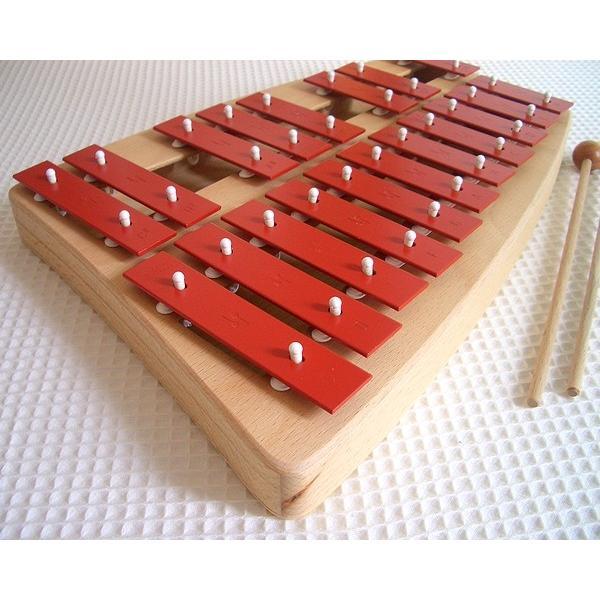 ゾノア SONOR 二段メタルフォン NG30 木のおもちゃ 楽器 鉄琴