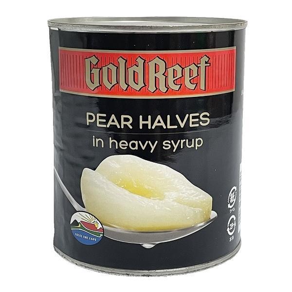 【在庫処分セール】ゴールドリーフ 洋梨缶 2ツ割(シロップづけ) 825g 賞味期限2022.4.1