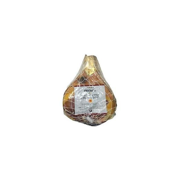 イタリア産プロシュート コルテボーナ パルマハム 原木(骨無) 14ヶ月熟成 (不定貫2.5円/g・税抜き)約7kg