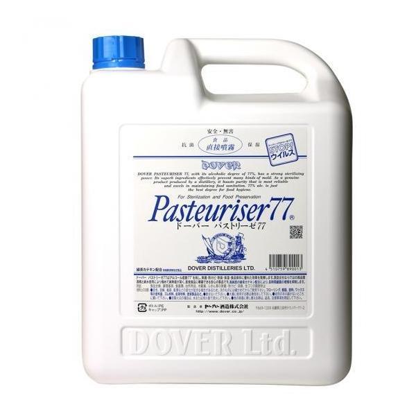 ドーバー パストリーゼ77 詰替用 ポリ容器タイプ 5L