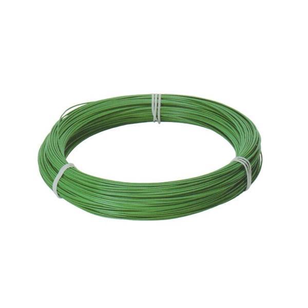 ビニール被覆針金 (緑)  線径3.2mm×長さ23m