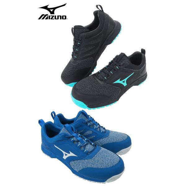 サイズ交換無料 安全靴 スニーカー ミズノ(MIZUNO) オールマイティ ALMIGHTY ES31L F1GA1903 ゴム紐タイプ 3カラー ローカット|workcompany|03