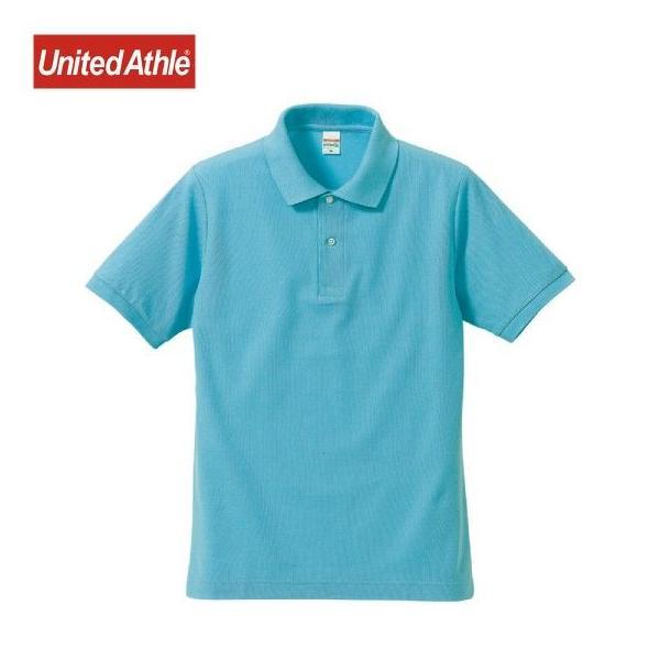ユナイテッドアスレ ポロシャツ 5050/5.3オンス (3着送料無料)|workpro