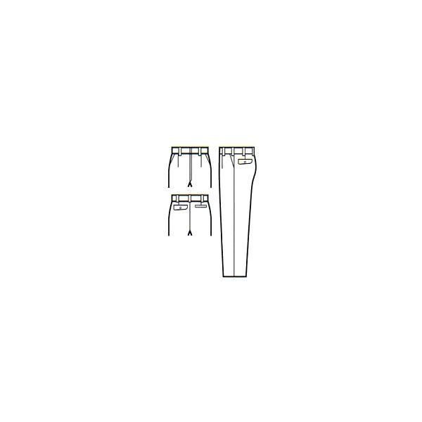 ・作業服 作業着 秋冬 ワンタックスラックス パンツ 大きいサイズ ポリエステル100%(ku-31098)|workshopgorilla|02