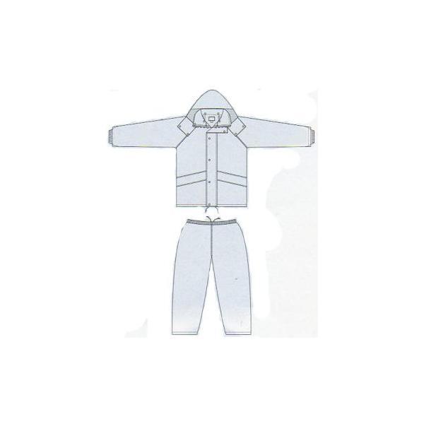 レインウエア 雨合羽 雨具 透湿レインウェア 透湿防水 二重筒袖 表:ナイロン100%(si-1171)|workshopgorilla|03