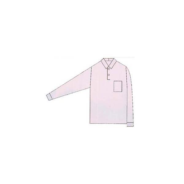 ポロシャツ 長袖 作業服 作業着 ユニフォーム 通年 柔らかい ポリエステル65%・綿35%(so-0020)|workshopgorilla|03
