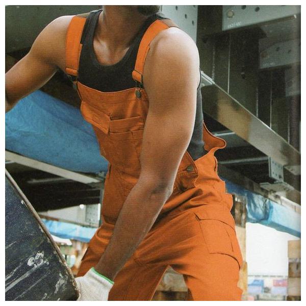 つなぎ服 ツナギ服 作業服 作業着 通年 サロペット オーバーオール ポリエステル65%・綿35%(so-29014)|workshopgorilla|02