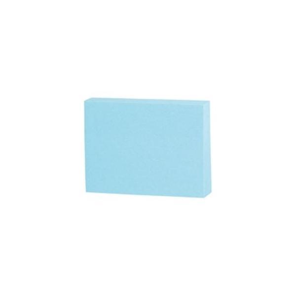 (まとめ)スリーエム 3M ポストイット 再生紙ノート 653RP-B ブルー〔×20セット〕