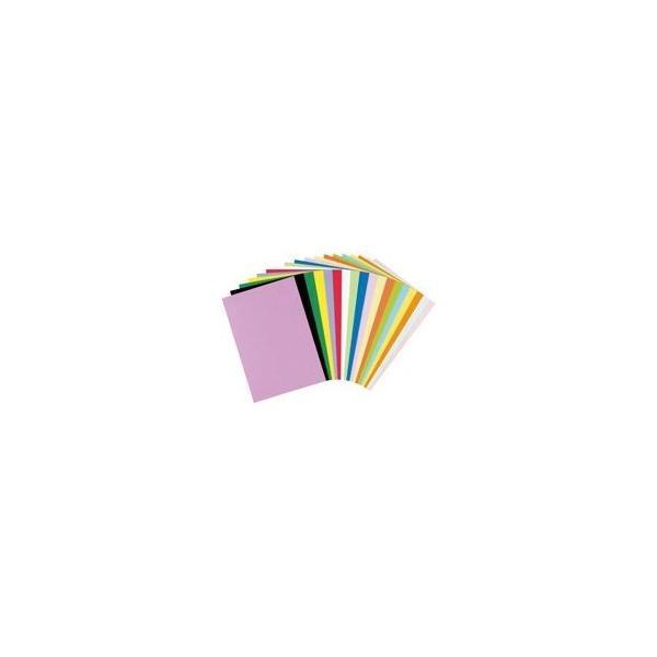 (業務用5セット)リンテック 色画用紙R/工作用紙 〔A4 50枚〕 レモン