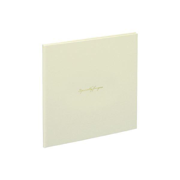 (業務用セット) 写真台紙/スクエア2L判2面 VM2L-301-W ホワイト〔×10セット〕