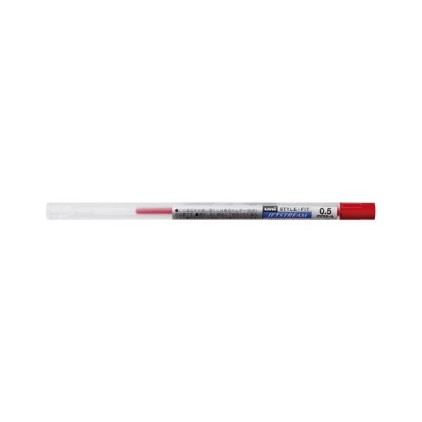 (まとめ) 三菱鉛筆 スタイルフィット ホルダー専用 油性ボールペン リフィル(ジェットストリーム) ボール径0.5mm SXR-89-05.15 レッド 1本入 〔×30セット〕