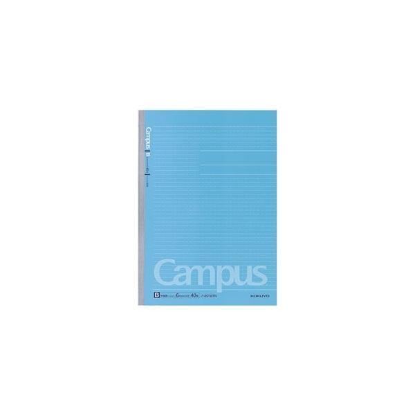 (まとめ) コクヨ キャンパスノート(ドット入り罫線) A4 B罫 40枚 ノ-201BTN 1冊 〔×10セット〕