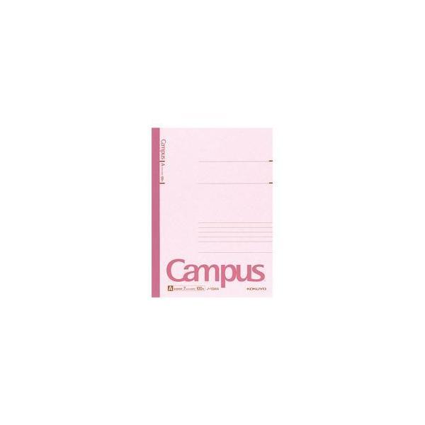 (まとめ) コクヨ キャンパスノート セミB5・A罫(7mm)・1冊(100枚) 〔×10セット〕