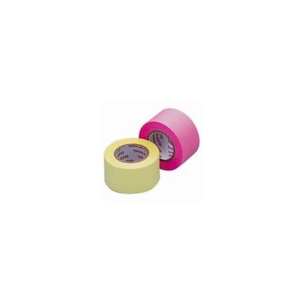 (業務用100セット) ヤマト メモックロール替テープ蛍光 WR-25H-6A