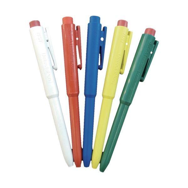 (まとめ) バーテック バーキンタ ボールペンJ802 本体:緑 インク:黒 BCPN-J802 GB 66216801 1本 〔×5セット〕