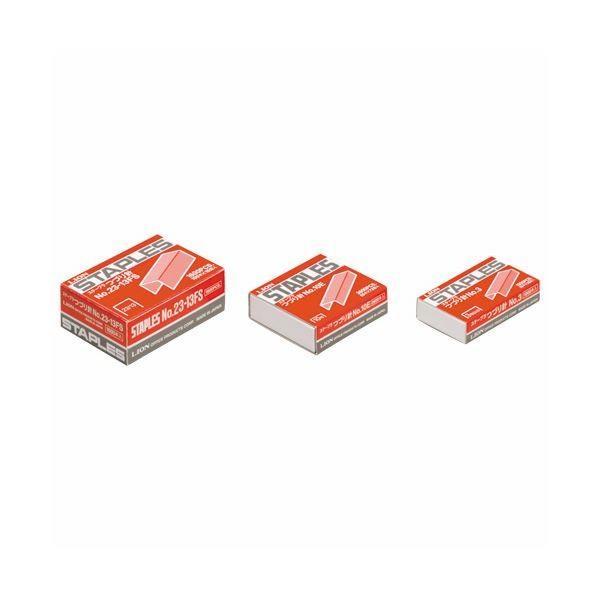 (まとめ) ライオン事務器 ステープラ綴針100本連結×16個入 No.23-13FS 1箱 〔×10セット〕