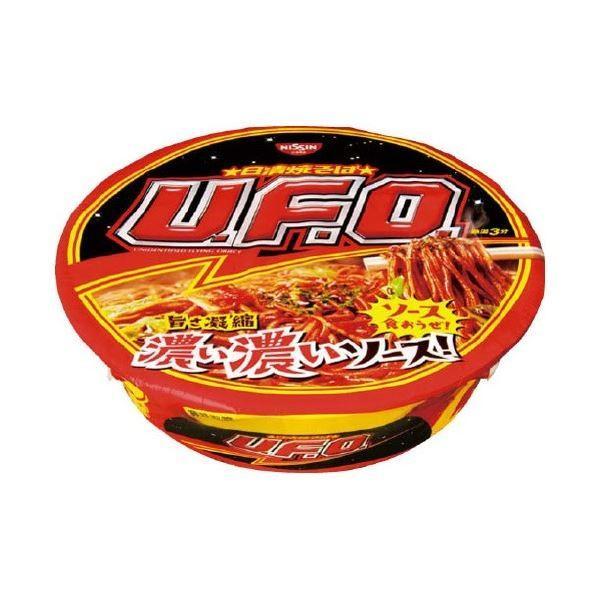 (まとめ)日清食品 焼きそばU.F.O. 12食入〔×2セット〕
