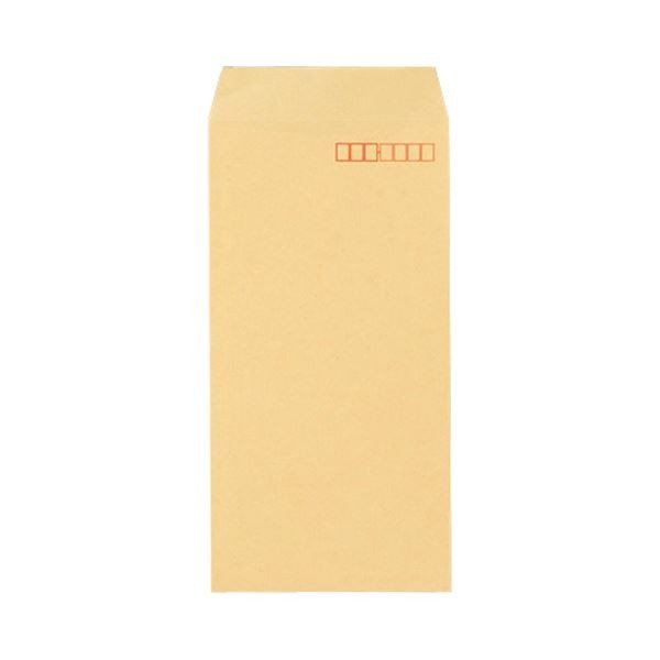 (まとめ) 寿堂 FSCクラフト封筒 長3 70g/m2 〒枠あり 業務用パック 581 1箱(1000枚) 〔×5セット〕