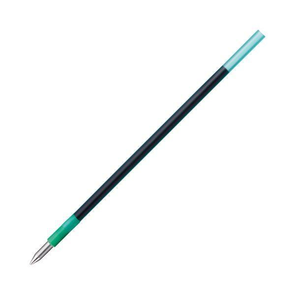 (まとめ) トンボ鉛筆 油性ボールペン替芯 CLE 0.5mm 緑 BR-CLE07 1セット(5本) 〔×30セット〕
