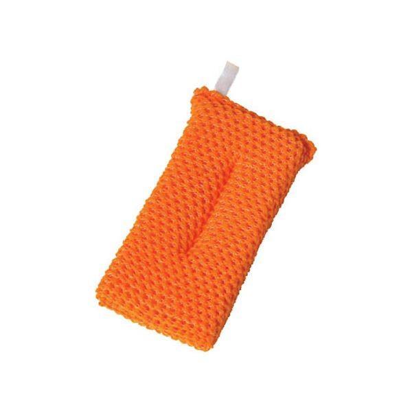 (まとめ)アイセン アクリルネットクリーナー オレンジ YK002 1個〔×20セット〕