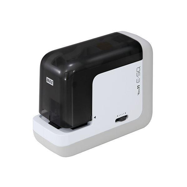 マックス ポータブル電動ホッチキス バイモ11 E-SQ 2〜40枚まで縦横・双方向で使用可
