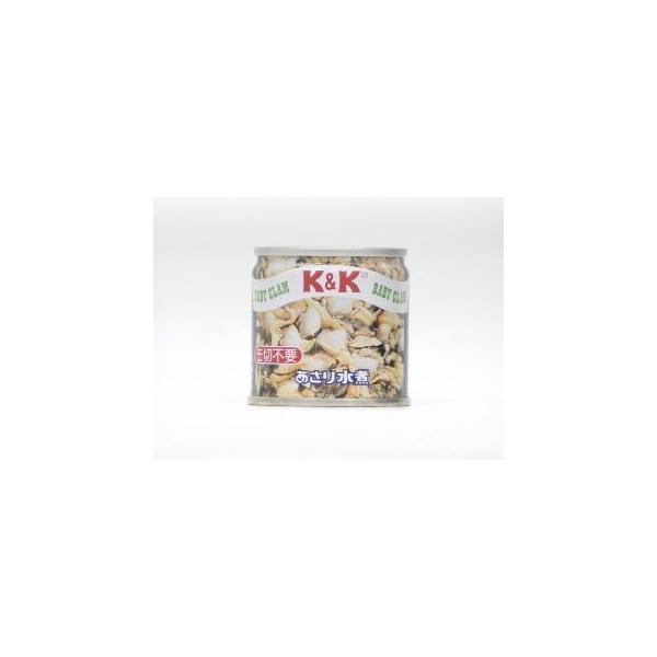 K&K あさり水煮 EO SS2号缶 x6 【49697247】