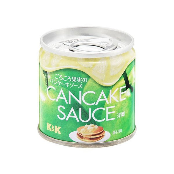 K&K CanCakeSauceごろごろ果実のパンケーキソースソース洋梨 SS2号 x24 【4901592905390】