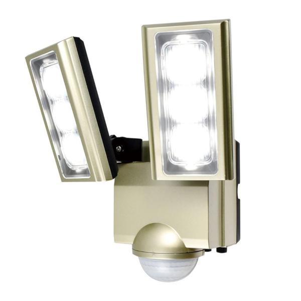 送料無料 ELPA(エルパ) 屋外用LEDセンサーライト AC100V電源(コンセント式) ESL-ST1202AC