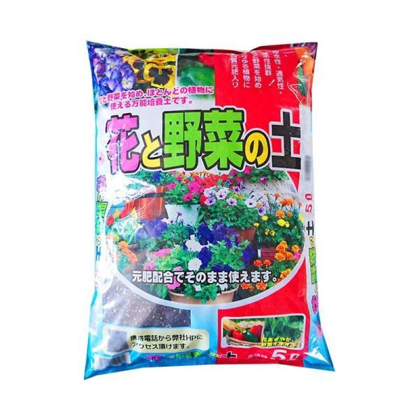 送料無料 あかぎ園芸 花と野菜の培養土 5L 10袋