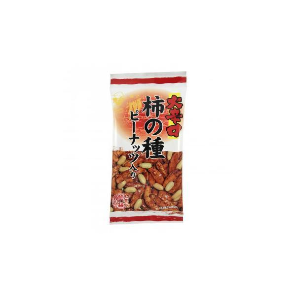 送料無料 タクマ食品 大辛口柿の種ピーナッツ入 6×24個入