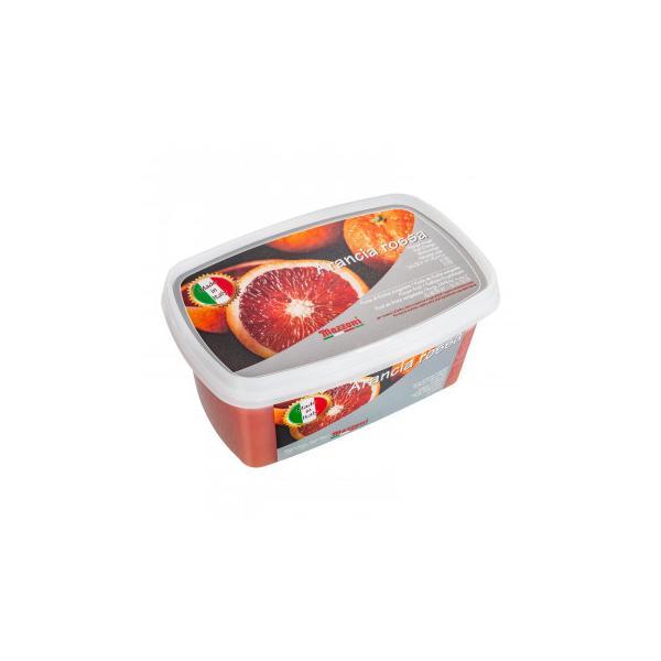 送料無料 マッツォーニ 冷凍ピューレ ブラッドオレンジ 1000g 6個セット 9400
