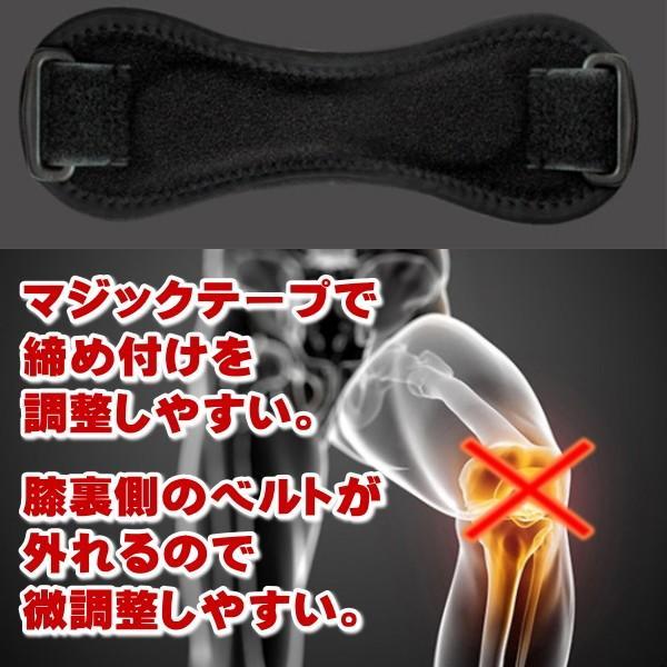 膝 サポーター 膝サポーター スポーツ 2個セット 二重構造 微調整 簡単装着 world-gear 04