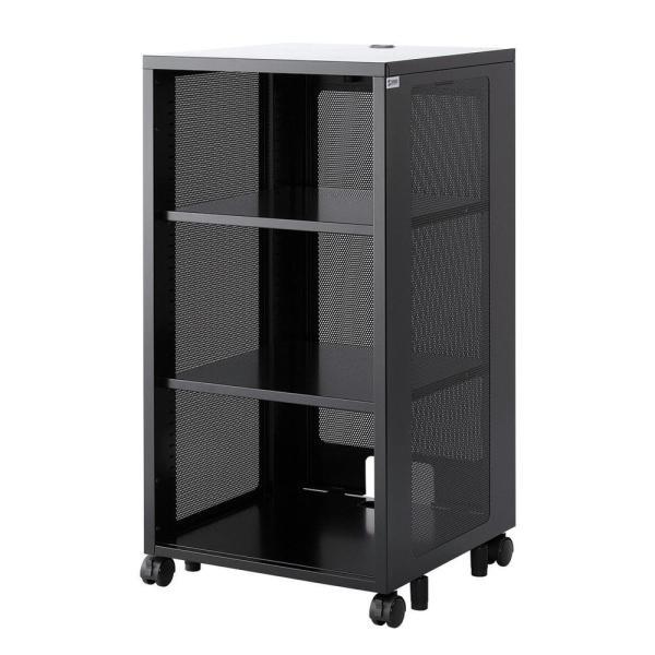 サンワサプライ トレンド 機器収納ボックス メーカー直売 H1000 省スペース 小型機器 CP-SBOX3棚