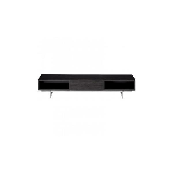 HOMEDAY テレビボード WBK 4年保証 安値 ウッディブラック LV-85-165