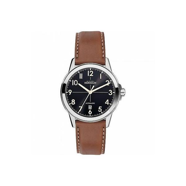 腕時計 ミッシェル エルブラン メンズ Michel 割引 Herbelin Automatic Ambassador 1650-24GO Men's 時間指定不可 Wristwatch