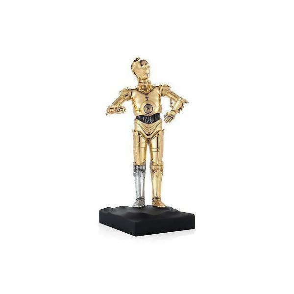 フィギュア 日時指定 スターウォーズ Star Wars By 春の新作続々 Royal Selangor Figurine C-3PO Gilt LIMITED 017927E EDITION
