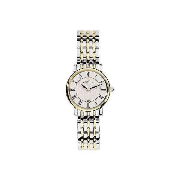 腕時計 ミッシェル 正規激安 エルブラン レディース Michel Herbelin 16945-BT01 Parisian Wristwatch Women's ご予約品 Tone Two