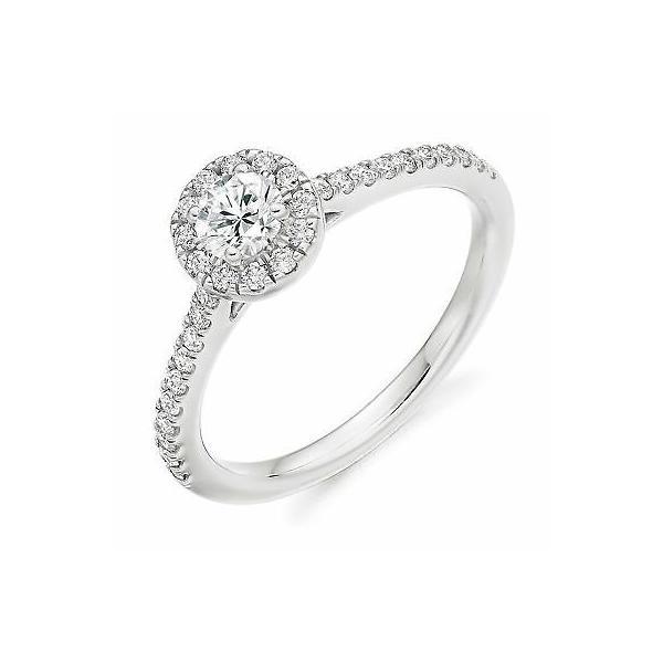 ジュエリー エイチエスジョンソン 格安激安 リング HS 40%OFFの激安セール Johnson HSJMR106 White Ring Diamond Gold 9ct 0.55ct