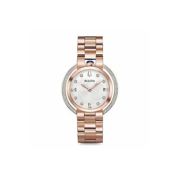 腕時計 ブローバ レディース 人気 贈呈 おすすめ Bulova Collection Rubaiyat 98R248 Women's