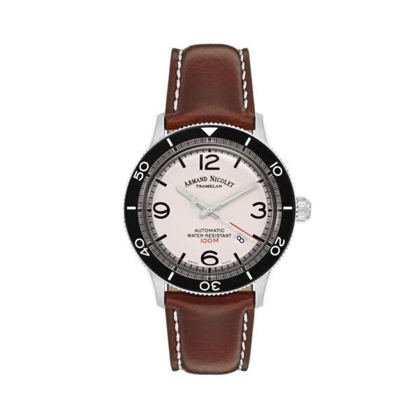 腕時計 アルマンニコレ 最安値 メンズ Armand Nicolet A890ANA-AG-P190MR2 Automatic Watch 売買 Men's