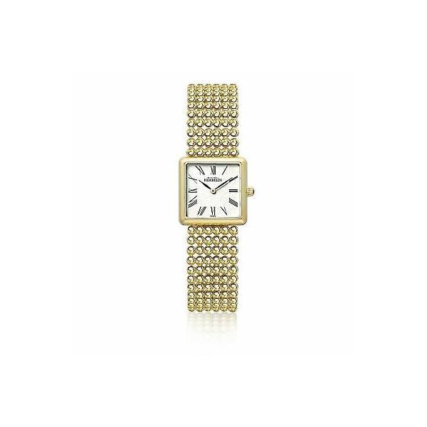 腕時計 ミッシェル エルブラン レディース Michel Herbelin 17493-BP08 Ladies Square 正規品送料無料 日本全国 送料無料 Gold Wristwatch Bracelet Perle Tone