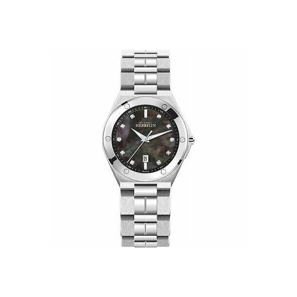 腕時計 ミッシェル 好評 エルブラン レディース Michel 代引き不可 Herbelin 14245-B49 Camarat Stainless Women's Wristwatch Steel Cap