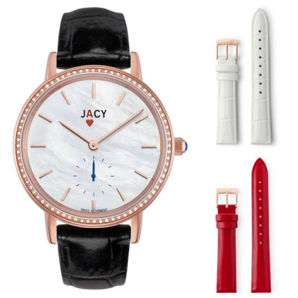 腕時計 NEW JACY ¨The Ace¨ Ladies Diamond Quartz 1601R JW 1001 Rose アウトレットセール 特集 AL完売しました。 Gold Plated Watch