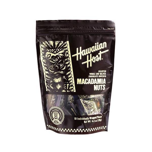 ハワイアンホースト マカデミアナッツチョコレート スタンドバッグ(9粒)(★クール便)