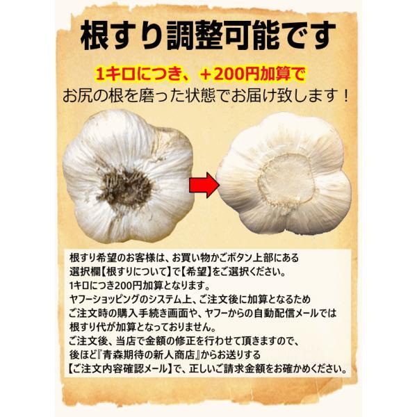 700円引き にんにく 青森 1kg 国産 ニンニク 1キロ Mサイズ以上大玉混合 厳選にんにく1kg 訳あり 中国産と比べて world-wand 11