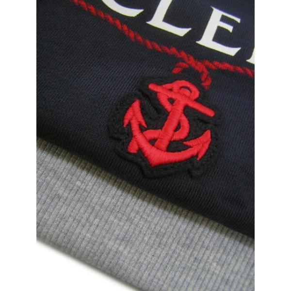 モンクレール MONCLER KIDS ユニセックス スウェットシャツ MAGLIA GIROCOLL 8018550 80417 B ネイビー/742/セール|worldclub|11